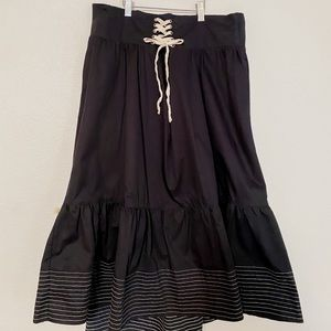 Corset waist Anthropologie Skirt